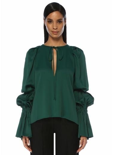 Beymen&Designer Bluz Yeşil